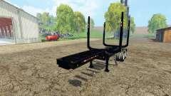 Logging semitrailer