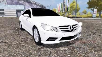 Mercedes-Benz E350 CDI (C207) para Farming Simulator 2013