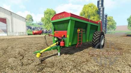 Gyrax EBMX 155 v1.1 para Farming Simulator 2015