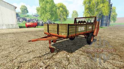 Heywang Mistral para Farming Simulator 2015