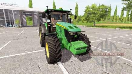 John Deere 6230R v3.0 para Farming Simulator 2017