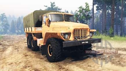 Ural 375 Bosque vagabundo para Spin Tires