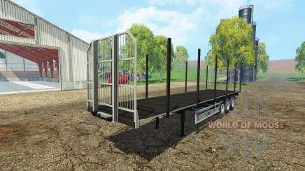 Fliegl universal semitrailer autoload v1.3 para Farming Simulator 2015