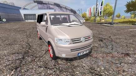 Volkswagen Caravelle (T5) TDI v2.0 para Farming Simulator 2013