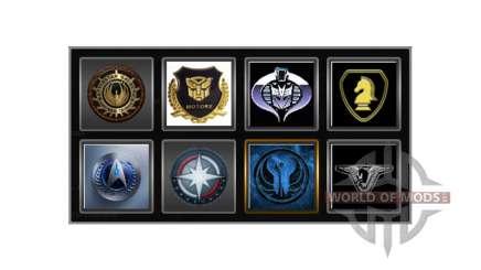 Los logotipos de la empresa para Euro Truck Simulator 2