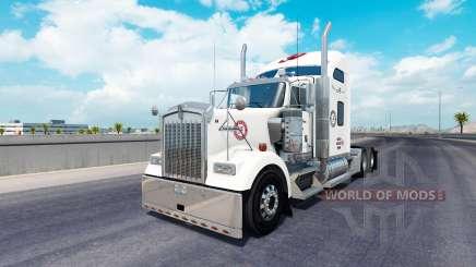 La piel de Alabama en el camión Kenworth W900 para American Truck Simulator