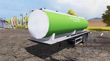 Slurry manure tanker para Farming Simulator 2013
