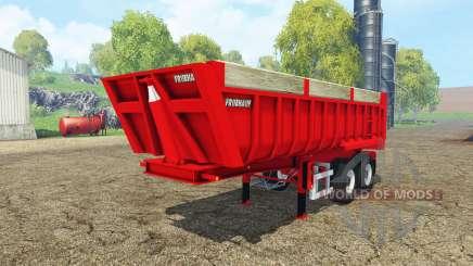 Fruehauf tipper semitrailer para Farming Simulator 2015