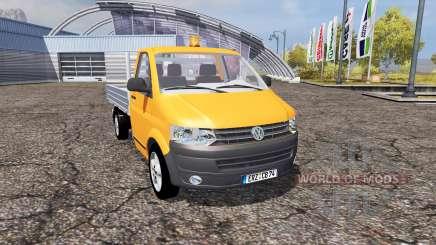 Volkswagen Transporter Dropside (T5) para Farming Simulator 2013