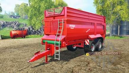 Krampe Bandit 750 para Farming Simulator 2015