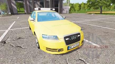 Audi A6 (C6) feuerwehr para Farming Simulator 2017