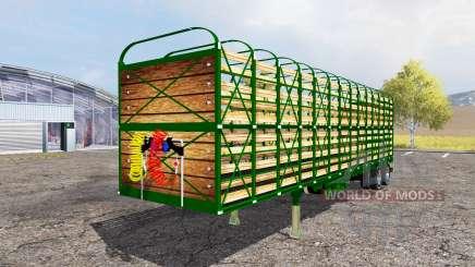 Livestock trailer para Farming Simulator 2013