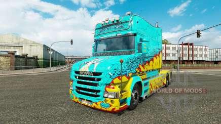 La piel McKays por Vince tractor Scania T para Euro Truck Simulator 2