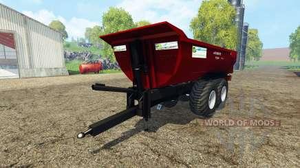 Krampe Halfpipe HP20 para Farming Simulator 2015