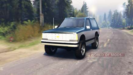 Chevrolet S-10 Blazer 1980 para Spin Tires