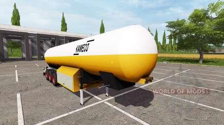 Kaweco 54000l para Farming Simulator 2017