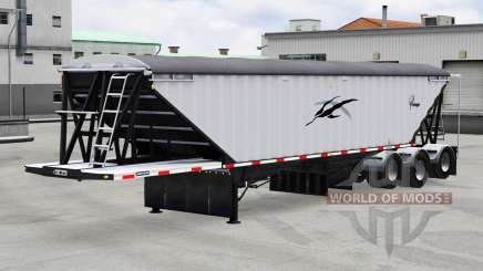 Lode King Prestige tri-axle para American Truck Simulator