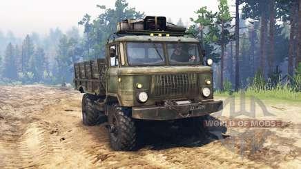 GAZ 66 para Spin Tires