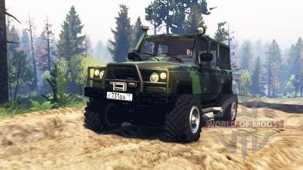 UAZ 3172 Espía v2.0 para Spin Tires