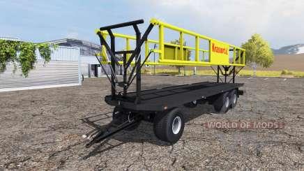 Krassort bale trailer v1.1 para Farming Simulator 2013