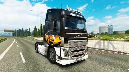 Pieles Lamborghini Gallardo para el Volvo trucks para Euro Truck Simulator 2