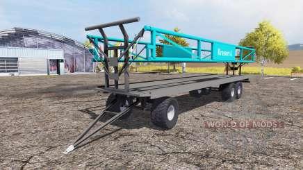 Krassort bale trailer para Farming Simulator 2013