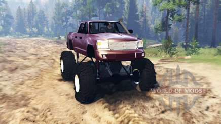 Dodge Dakota TTC para Spin Tires
