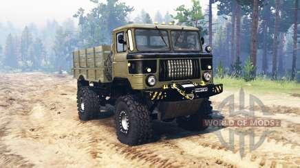 GAZ 66 Phantom v1.1 para Spin Tires