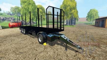 Fliegl universal semitrailer v1.5.4 para Farming Simulator 2015