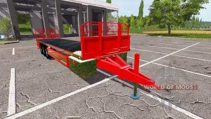 Trailer platform para Farming Simulator 2017