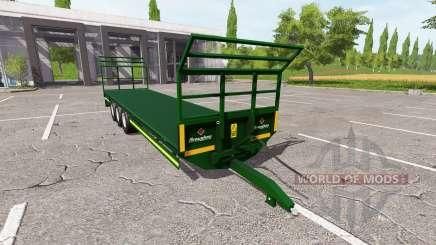 Broughan 36Ft autoload para Farming Simulator 2017