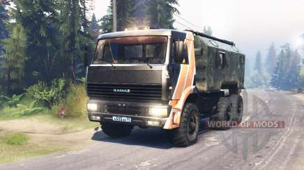 KamAZ 6522 para Spin Tires