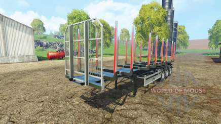 Timber semitrailer autoload Fliegl para Farming Simulator 2015