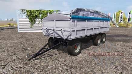 Fortschritt tipper trailer v1.1 para Farming Simulator 2013