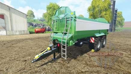 Krampe Bandit 750 green para Farming Simulator 2015
