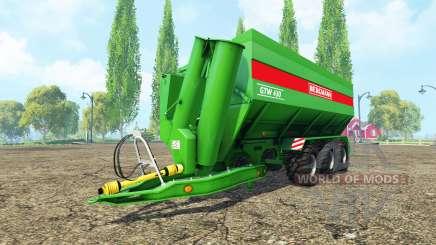 BERGMANN GTW 430 v4.2 para Farming Simulator 2015