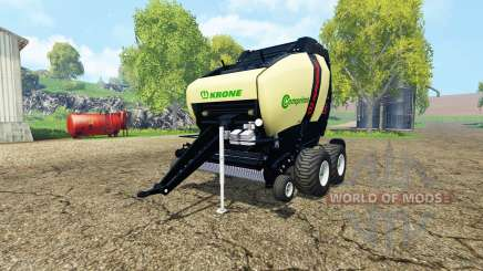 Krone Comprima V180 XC black para Farming Simulator 2015