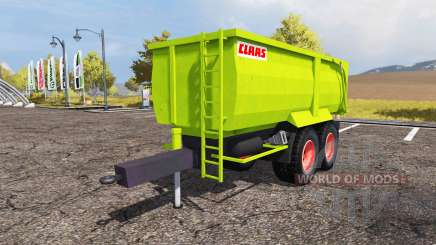 CLAAS tipper trailer para Farming Simulator 2013