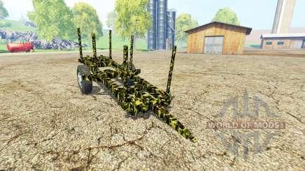 Small Wooden Trailer para Farming Simulator 2015