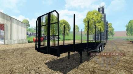 Fliegl universal semitrailer v1.5.3 para Farming Simulator 2015