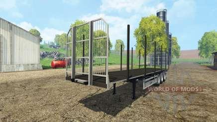 Fliegl universal semitrailer autoload v1.4 para Farming Simulator 2015