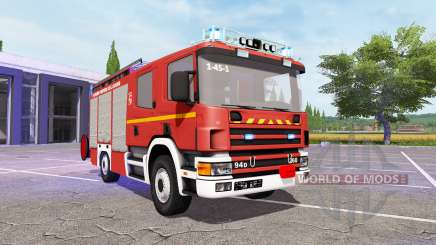 Scania 94D 260 Feuerwehr v1.1 para Farming Simulator 2017