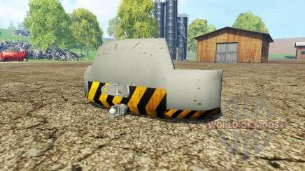 Weight Liebherr para Farming Simulator 2015