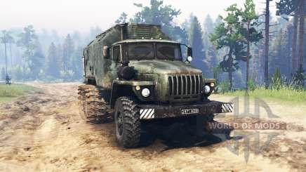 Ural 4320 Pantano para Spin Tires