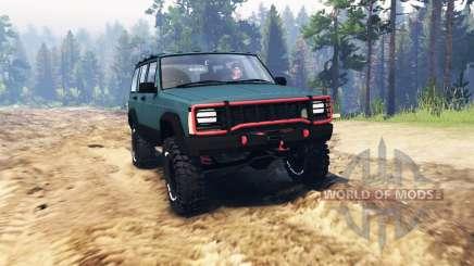 Jeep Cherokee 1994 para Spin Tires