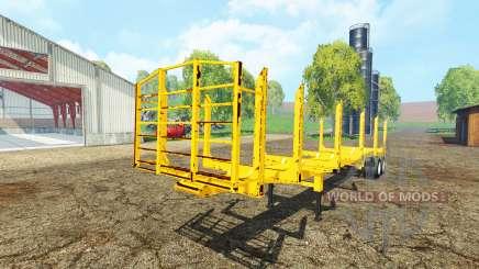 American logger trailer para Farming Simulator 2015