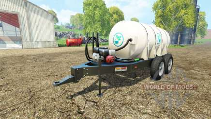 Lizard Fertilizer Trailer para Farming Simulator 2015