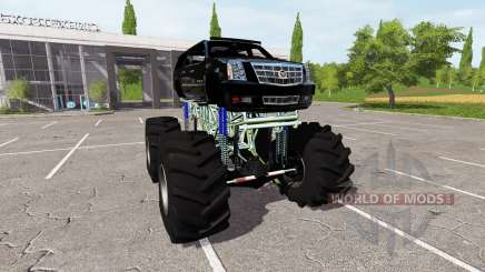 Cadillac Escalade lifted para Farming Simulator 2017