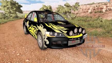 Mitsubishi Lancer Evolution IX 2006 v2.1 para BeamNG Drive