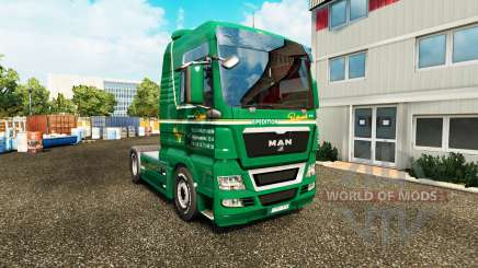 La piel Spedition Bartkowiak en el tractor HOMBRE para Euro Truck Simulator 2